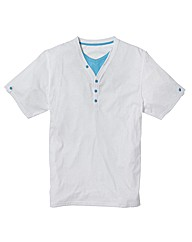 Jacamo Basic Layered T-Shirt Regular