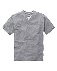 Jacamo Basic Layered T-Shirt Long