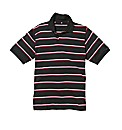 Jacamo Engineered Stripe Polo Shirt Long