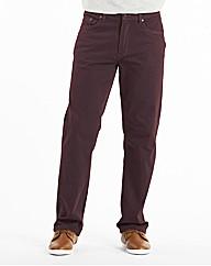 Jacamo Gaberdine Mens Jeans 27 inches