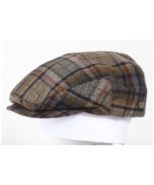 Bailey Lord Bias Plaid Wool Hat