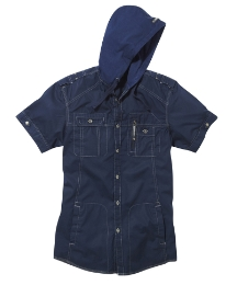 Mish Mash Hooded Shirt