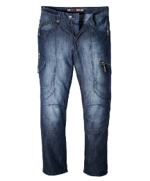 Mish Mash Kick Ass Mens Jean Long 33in