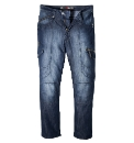 Mish Mash Kick Ass Mens Jean Short 29in