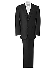 Jacamo 3 Piece Suit 33In Leg Length
