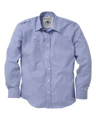 Flintoff by Jacamo Stripe Shirt Reg