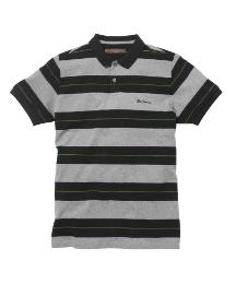 Ben Sherman Stripe Polo Shirt Regular