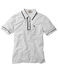 Penguin Earl White Polo Shirt Long