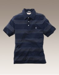 Penguin Stripe Polo Shirt