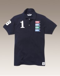 Nickelson Flag Polo Shirt Long
