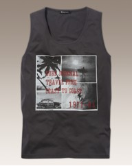 Label J Graphic Vest