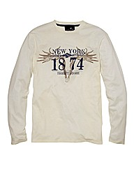 Label J Long Sleeve Graphic T-Shirt