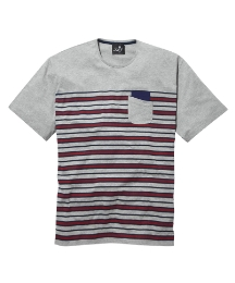 Label J Stripe T-Shirt