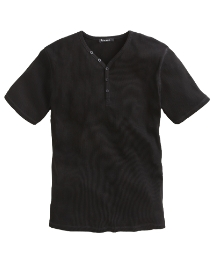 Jacamo Short Sleeve Ribbed T-Shirt Long