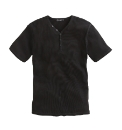 Jacamo Short Sleeve Ribbed T-Shirt Reg