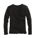 Jacamo Long Sleeve Ribbed T-Shirt Reg