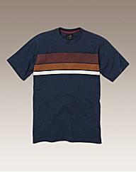 Label J Block Stripe T-Shirt Regular