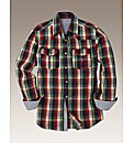 Jacamo Western Check Shirt