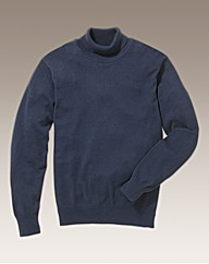 Label J Roll Neck Jumper