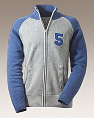 Rogers & Sons Full Zip Cardigan