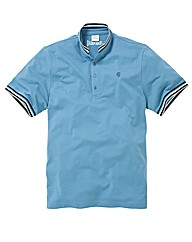 Jacamo Cycle Collar Polo Shirt Long
