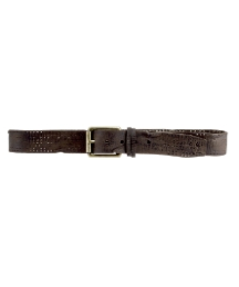Religion Slashed Strap Belt