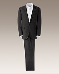 Jacamo Pinstripe Fashion Suit Long