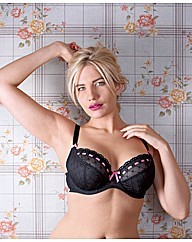 Curvy Kate Black Portia Balcony Bra