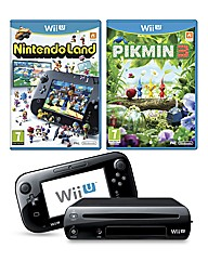 Black Wii U Premium Pack & Nintendo Land