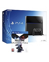 PS4 Console + Killzone Shadow Fall