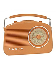 Steepletone Retro Radio - Orange