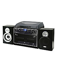 5 in 1 Bluetooth Music System - Black