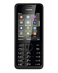 Orange Nokia 301 Black