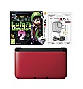 3DS Xl Console Red Luigi