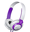 Sony Headphones - Violet/White