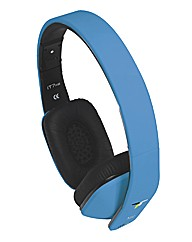 iT7x2 Bluetooth Headphones - Blue