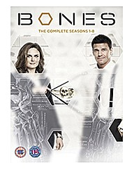 Bones - Seasons 1-8 TV Boxset
