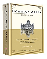 Downton Abbey Series 1-4 TV Boxset