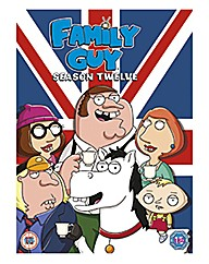 Family Guy Series 12 TV Boxset