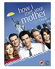 How I Met Your Mother Seasons 1-8 Boxset