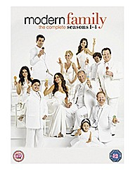 Modern Family - Seasons 1-4 TV Boxset