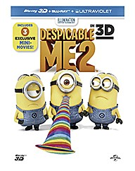 Despicable Me 2 3D Blu-ray