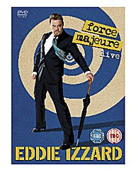 Eddie Izzard - Force Majeure DVD