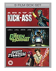3 Film Box Set: Including Kick Ass