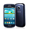 Samsung Galaxy S3 Mini Mobile Phone Blue