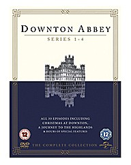 Downton Abbey - Series 1-4 DVD