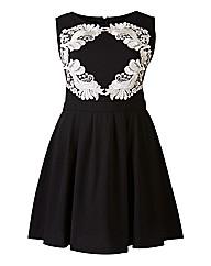 AX Paris Lace Motif Skater Dress