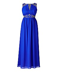 Laced in Love Embellished Maxi Dress
