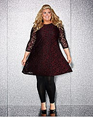 Gemma Collins Lace Tunic