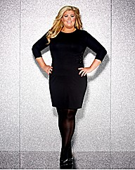 Gemma Collins Lace Trim Bodycon Dress